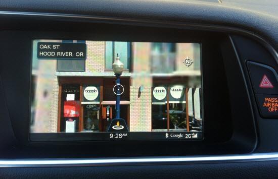 Audi Q5 TDI  и Google Earth: навигация на следующем уровне