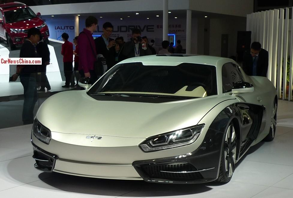 китайский автомобиль тесла