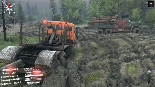 Возить лес игра скачать