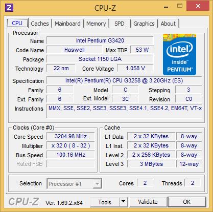 Обзор процессора Intel Pentium G3258: Haswell c разгоном за $72
