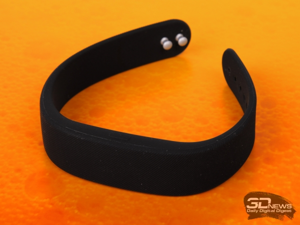 Sony SmartBand SWR10: front