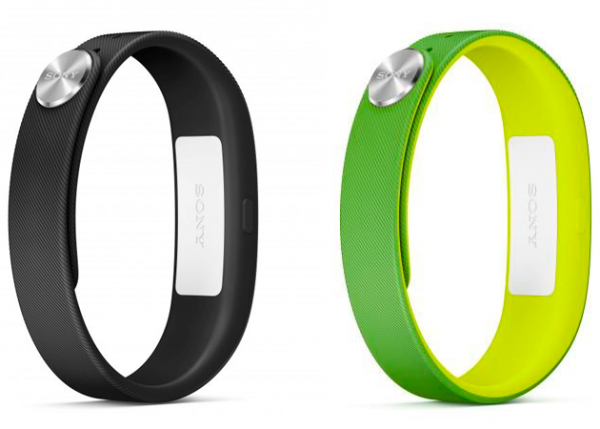 Sony SmartBand SWR10: standard wristlet color and FIFA edition