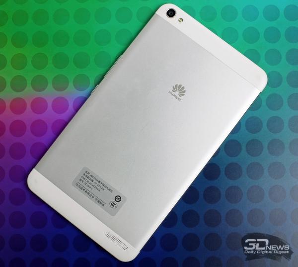 Huawei MediaPad X1 – задняя панель