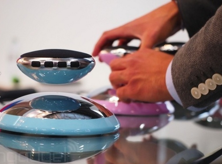 IFA 2014: Bluetooth-акустика ASWY с возможностью левитации
