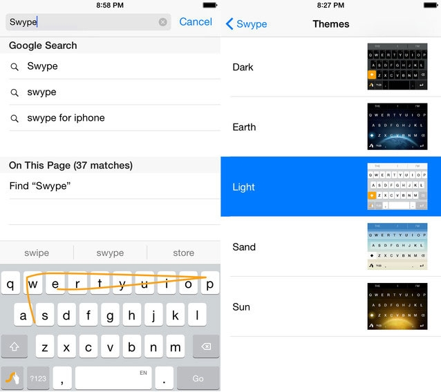 Swype клавиатуру для windows 10