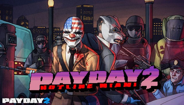 PayDay 2 обзавелась дополнением в стиле Hotline Miami