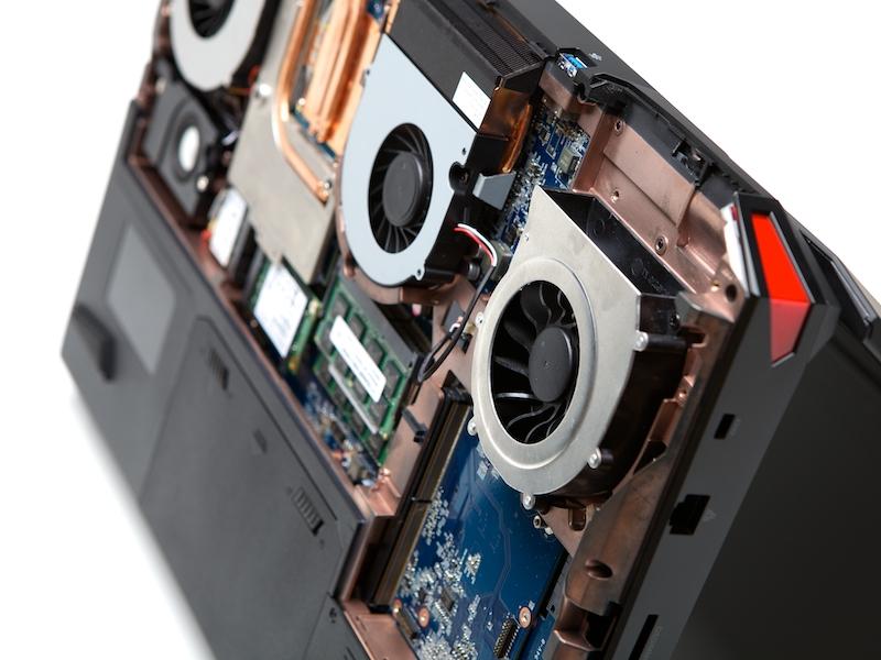 Eurocom X7: два слота MXM 3.0b и мощная система охлаждения
