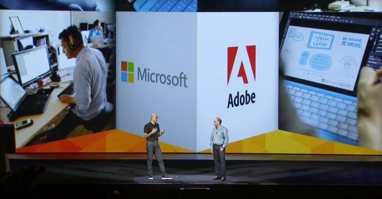 Microsoft и Adobe