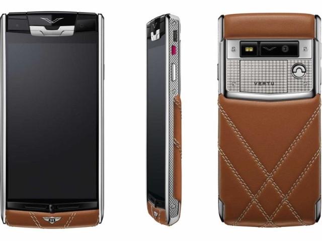 Смартфон от Vertu и Bentley рекомендации