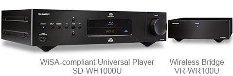 Беспроводной плеер Sharp SD-WH100U за $5 тыс. поступил в продажу