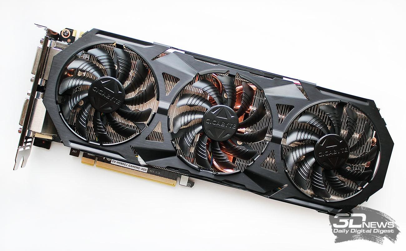 Обзор видеокарты Gigabyte GeForce GTX 980 G1 Gaming: в