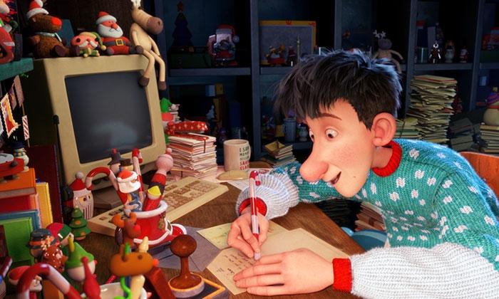 Мультфильм «Скрытая работа Санта Клауса»
