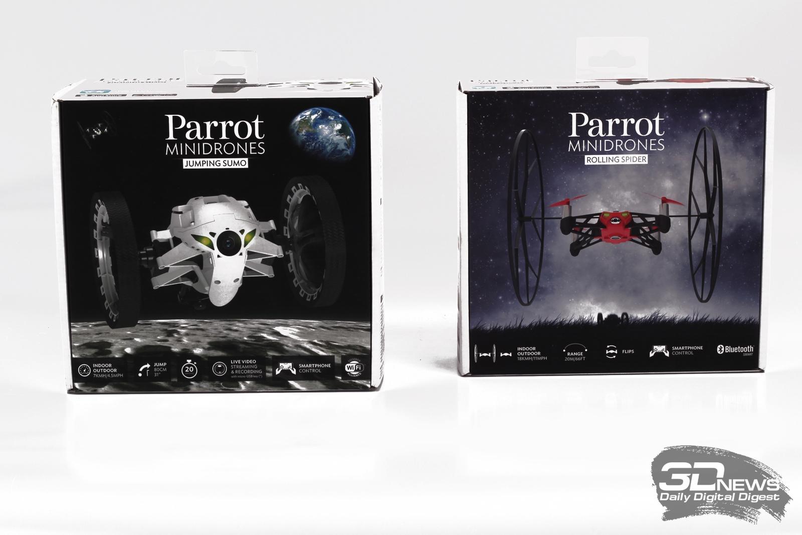 Обзор Parrot minidrones: робот в каждый дом