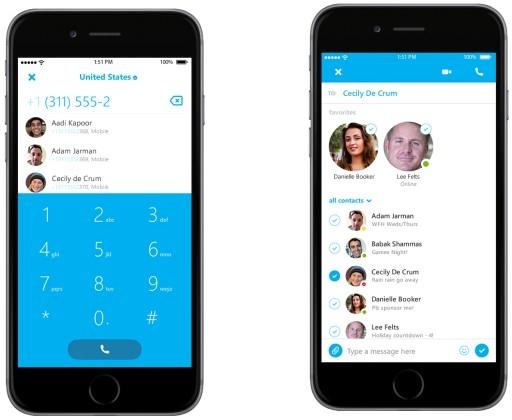 Skype 5.0 для iOS