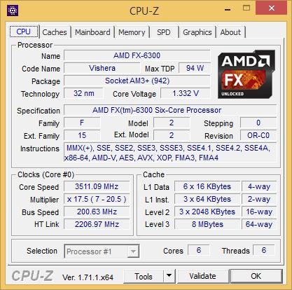Купить Процессор AMD FX-6300 OEM в интернет магазине DNS. Характеристики, цена AMD FX-6300
