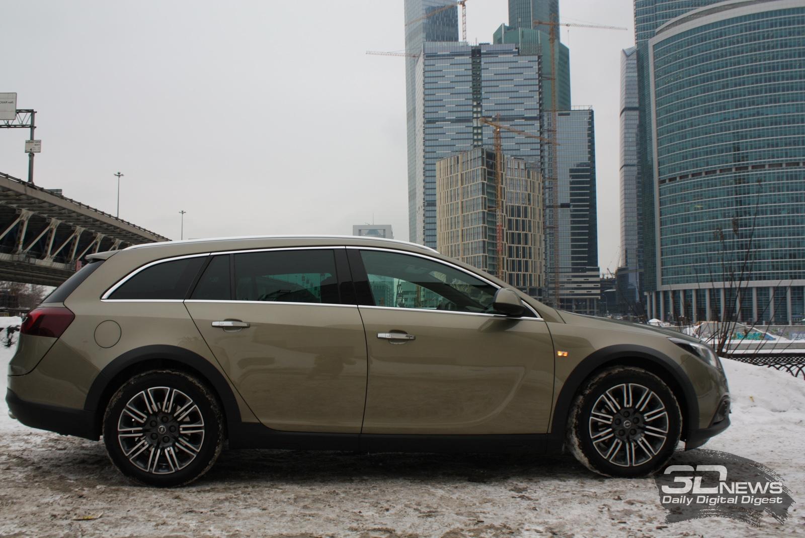 Opel Insignia превратят в универсал повышенной проходимости