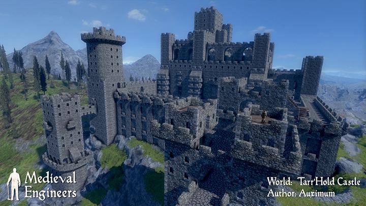 Строительный симулятор Medieval Engineers появился в