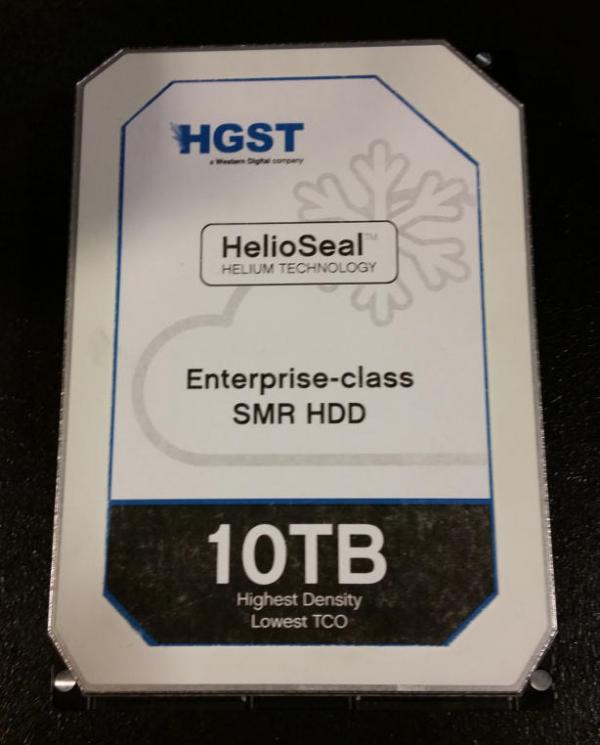 HGST HelioSeal Ultrastar He 10TB