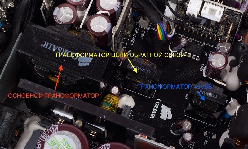 Трансформаторы (Corsair HX750i)