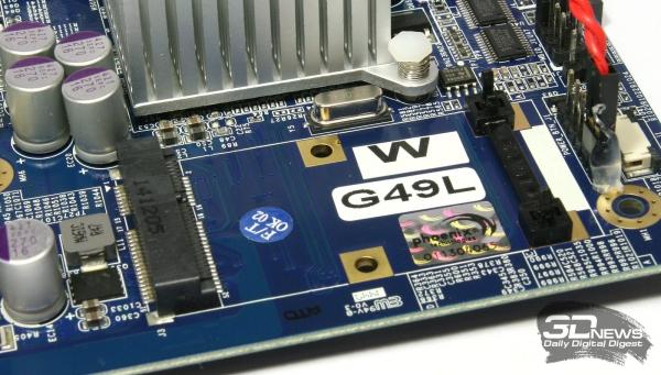 Слот Mini PCI-E на системной плате