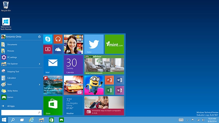 Windows 10 как с магазина