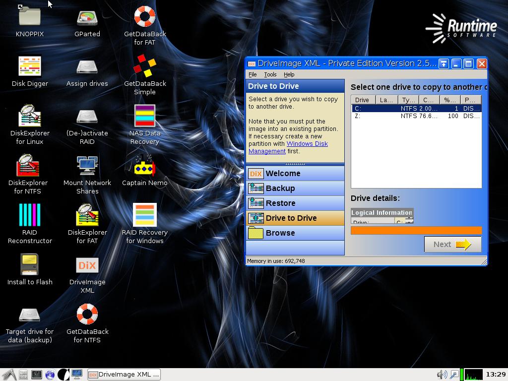 Работа с виртуальными жесткими дисками VHD в Windows 7