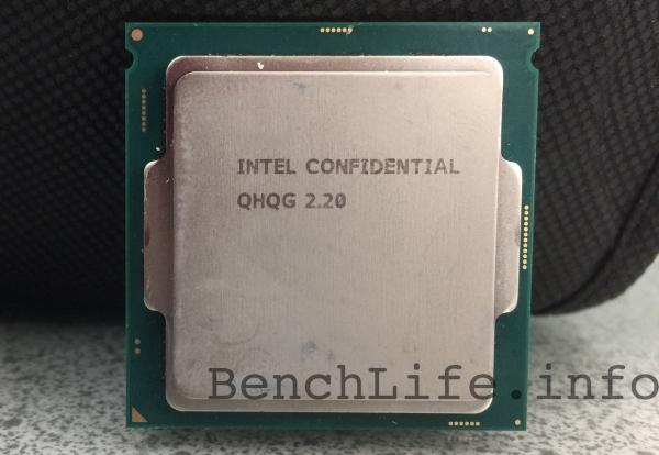 Процессор Intel Skylake-S для разработчиков. Фото сайта BenchLife.info