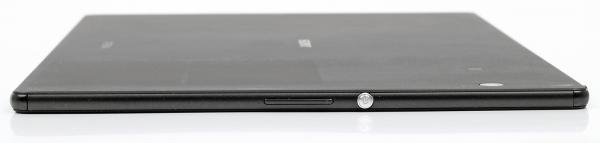Sony Xperia Z4 Tablet – аппаратные клавиши на левом торце