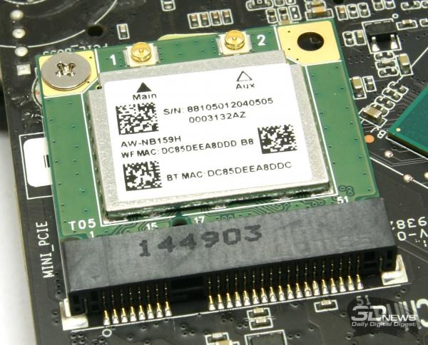 Модуль беспроводной связи Bluetooth 4.0 и Wi-Fi 802.11b/g/n