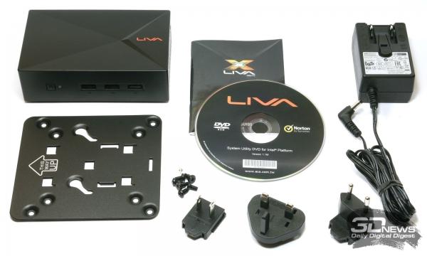 Комплект поставки LIVA X