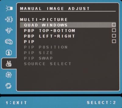 viewsonic monitor manual image adjust