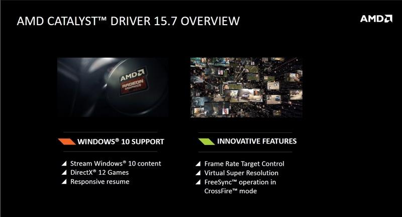 Новая версия AMD Catalyst поддерживает DirectX 12