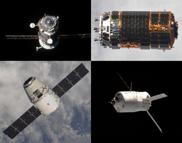 Dragon наравне с российским «Прогрессом», европейским ATV и японским HTV начал доставлять грузы на МКС
