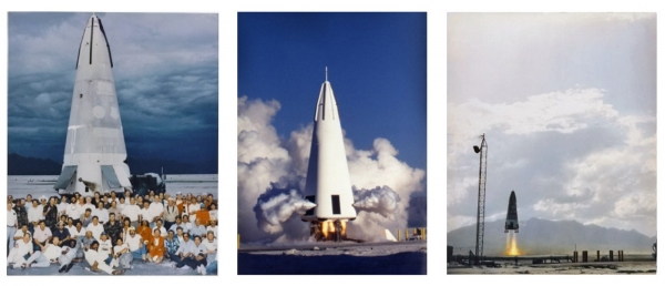 В период с 1993 по 1995 год демонстратор DC-X выполнил 12 полётов