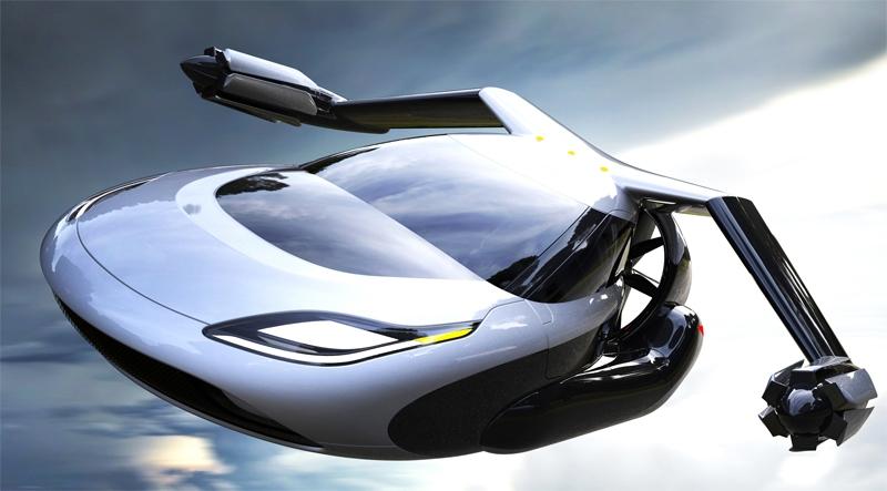 летающий автомобиль тесла