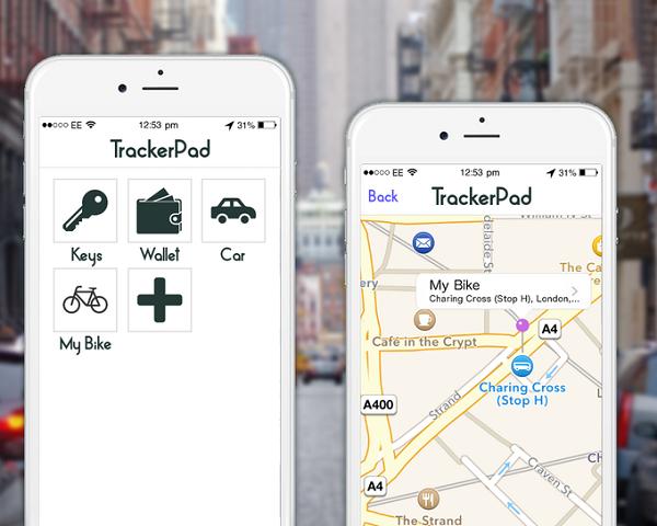 "TrackerPad: GPS-стикер размером с монетку для слежки"""