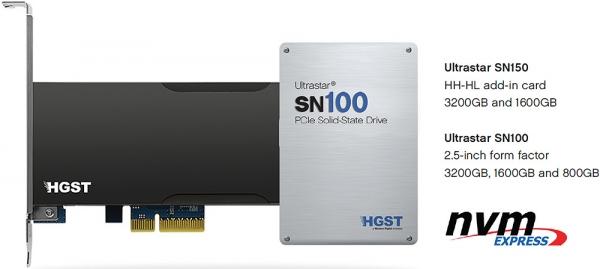 HGST Ultrastar SN100/SN150
