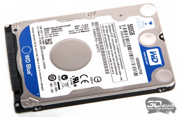 Диск HDD Western Digital WD5000LPVX