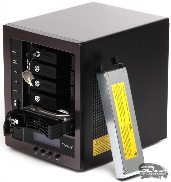 Обзор NAS Thecus N5810PRO: пять дисков под охраной ИБП