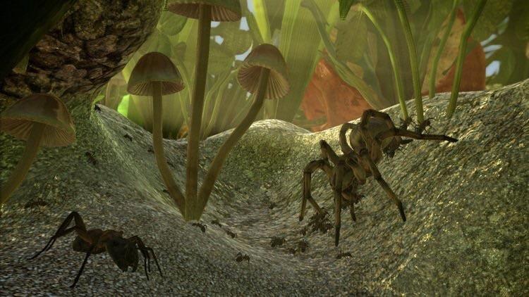Скачать симулятор муравья