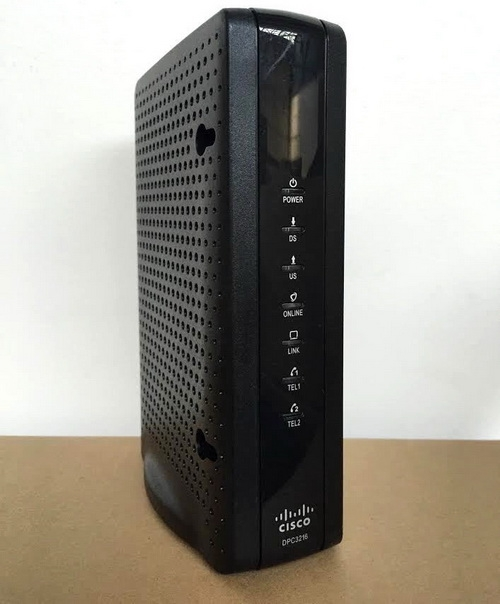 Типичный 16-канальный модем DOCSIS 3.0: до 800 Мбит/с