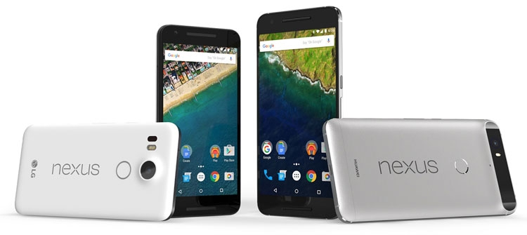 «Гуглофоны» Nexus 5X и 6P на Android 6.0 Marshmallow