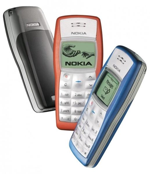 Выпущенный в 2003 году Nokia 1100 — самый продаваемый телефон в мире