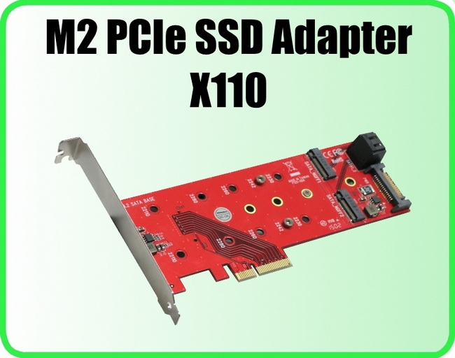 Addonics X110: половинчатое решение