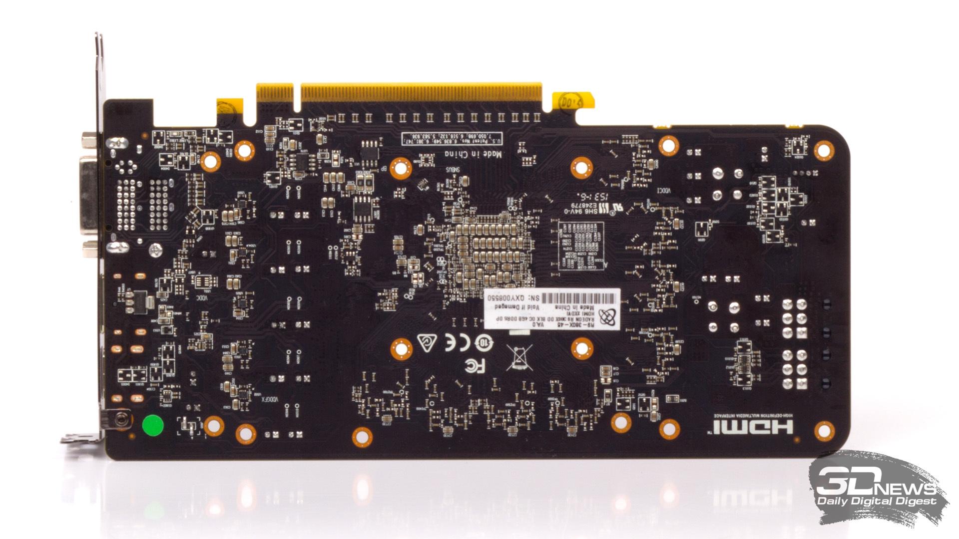 Обзор AMD Radeon R9 380X на примере XFX Radeon R9 380X Black Edition DD OC