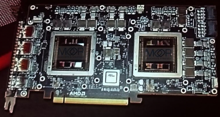 AMD Radeon R9 Fury X2. Фото Moor Insights & Strategy