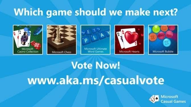 Выбор из пяти игр для пользователей