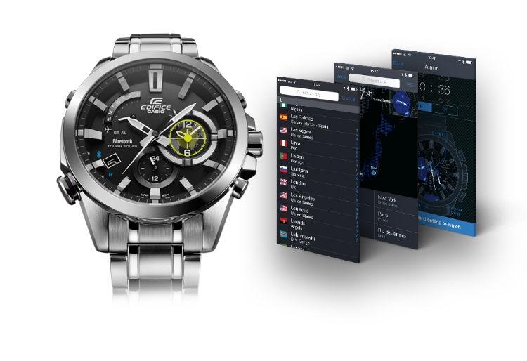 Часы EQB-510, более «продвинутая» модификация модели EQB-500