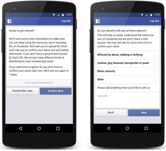 Мобильный клиент Facebook