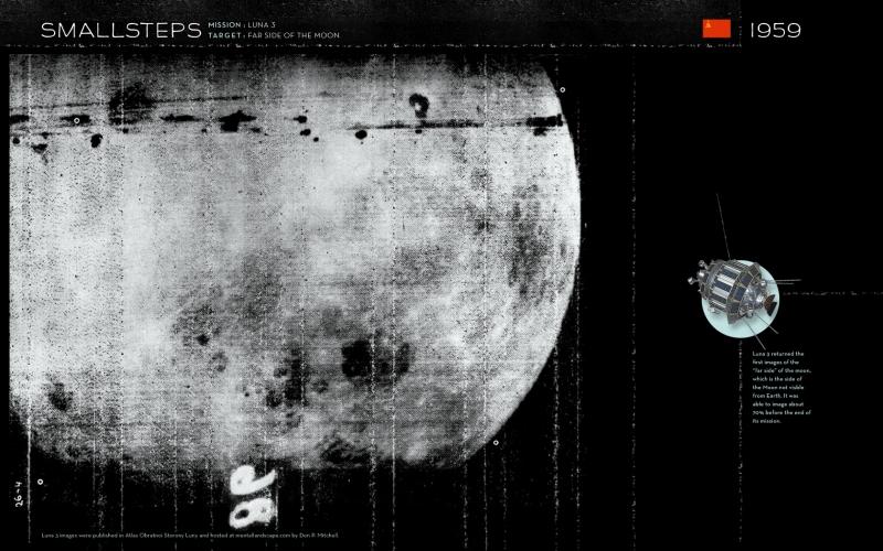 Советская станция «Луна-3» сфотографировала «затылок» нашего естественного спутника